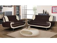 SALE**Palmerro retro design sofas / 3+2 seater sofa set or corner sofa in a choice of 4 colours