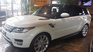 2016 Range Rover Sport HSE Turbo Diesel Loaded 1 Owner Mint Cond
