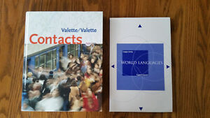 French Textbook - Contacts 8th e - Valette Kingston Kingston Area image 1