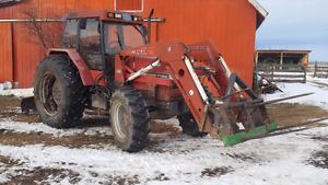 Case 5130 loader tractor