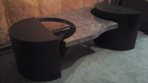 Custom one-of-a-kind modern coffee table Kitchener / Waterloo Kitchener Area image 1