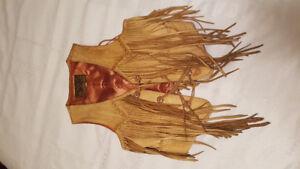 Vintage 1980's Deerskin Vest