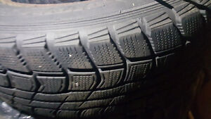 winter tires with rims Kitchener / Waterloo Kitchener Area image 2
