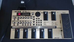 Boss GT-6 Guitar Effects Processor