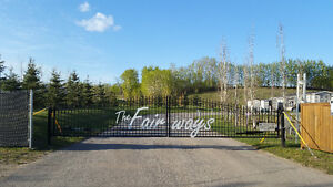 RV or Cottage Fully Serviced 4-season lot; Central Alberta