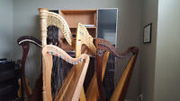 Harp lessons (Harp rentals available)