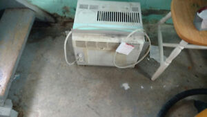 Air Conditioner with Plexi Glass