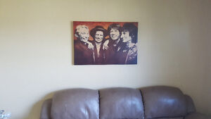 Rolling Stones canvas wall hanging