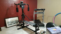 C.T.S Weider Flex Master Home Gym...Mint!!