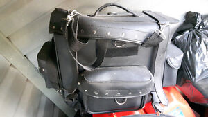 Free stuff and motorcycle bag