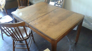 Wooden Dining Table plus Chairs