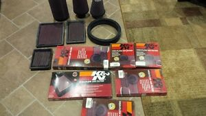 Assorted Brand New K&N Performance Air Filters