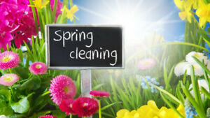 Spring Cleaning!!