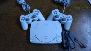 PS One Mini w/ 2matching controller and official power supply