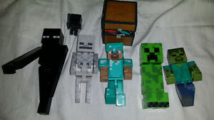minecraft action figures 5""