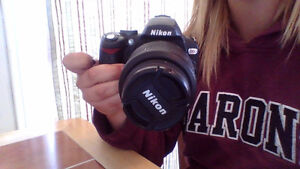 NIKON D60 Barely used!