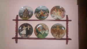Complete set of Sound of Music Collectors Plates