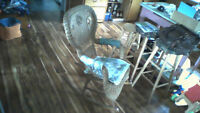 Antique Wicker Rocker By #2286 By the Heywood Brothers