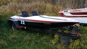 Cougar V drive speedboat
