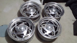 16x8 Eagle Alloy wheels.