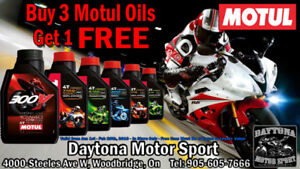 SPEACIAL ON YAMAHA & SUZUKI MOTORCYCLE OIL BUY 3 AND GET 1 FREE