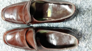 for sale brown  leather steel safety warehouse shoes great Regina Regina Area image 3