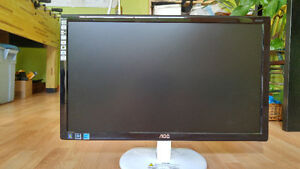 22 inch LED Monitor -- like new