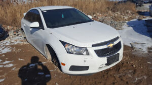 2011 CRUZE...  JUST IN FOR PARTS AT PIC N SAVE! WELLAND