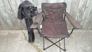 2 Folding Camp Chairs $20 each or both for $30.