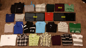 Jackets, Sweaters and Shirts (Long & Short Sleeve)