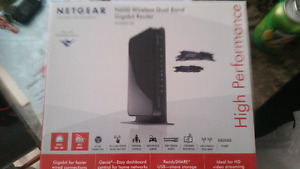 Netgear N600 Wireless Dual Band Gaming router