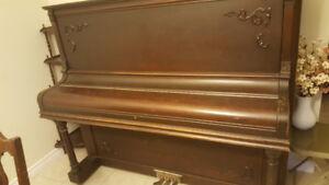 Antique Gerhard Heintzman Wooden Piano