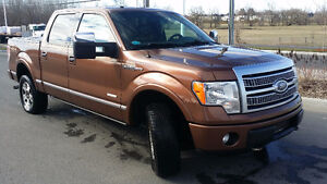 2011 Ford F-150 4X4 Platinum Camion