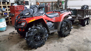 Can am outlander 800xt trade for rzr or maverick