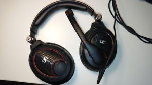 Sennheiser GAME ZERO Professional Gaming Headset, Black, USED