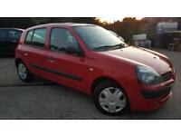 2003 Renault Clio 1.2 16v ( a/c ) Expression*Very Low Mileage*One Owner From New