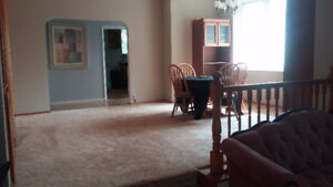 All inclusive, furnished 3 bed house 44kms SE of Regina-OCT 1st
