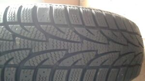 One Winter tire 175/65r14