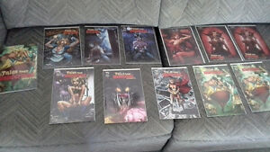 Grimm Fairy Tales -Tales from Wonderland book & 11 comics