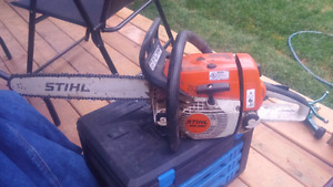 Pro quality saw for sale.  Runs like new.  Stihl MS260