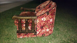 RETRO 2pc COUCH SET - GREAT SHAPE