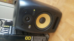 KRK VXT-8 Open box MINT Condition