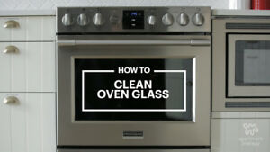 TOUGH OVEN DOOR CLEANING AVAILABLE, CALL TODAY