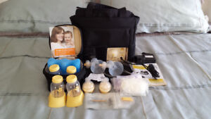 Medela double breast pump.