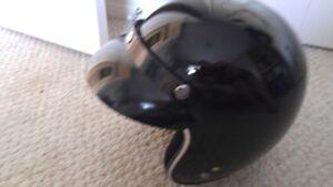 Sigi Five O Open Face Helmet - Black small/medium