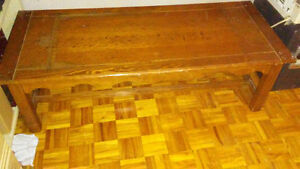 Oak (unsure) coffee tables from the 90's for living room