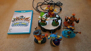 Wii U Skylanders Swap Force with many characters
