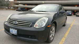 2005 Infiniti G35 - selling AS IS