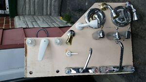 Assortment of Kitchen, Bath & Tub Taps. $25.00 each