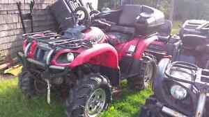 Used 2002 Honda 660 Grizzly
